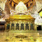 عکس ضریح امام حسین علیه السلام با کیفیت بالا نزدیک برای پس زمینه