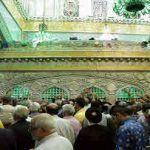 عکس ضریح امام رضا علیه السلام با کیفیت بالا از نزدیک برای پروفایل