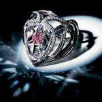 عکس قلب فانتزی زیبا عاشقانه مشکی دخترونه خوشگل صورتی اینستاگرام برای پروفایل